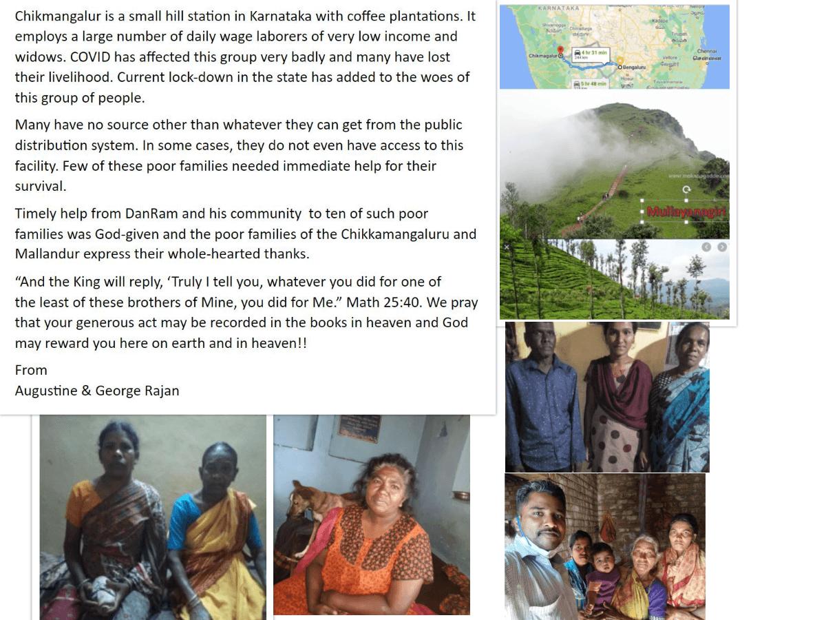 Chikmangalur Families