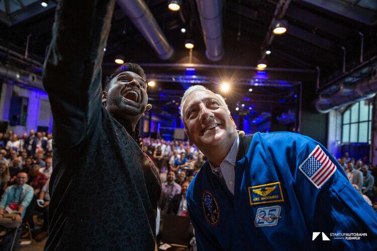 NASA Astronaut Mike Massimino @ Startup Autobahn